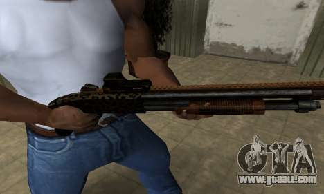 Leopard Shotgun for GTA San Andreas
