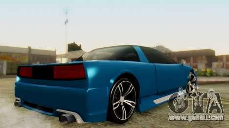 Infernus BMW Revolution for GTA San Andreas left view