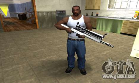 Bitten Sniper Rifle for GTA San Andreas third screenshot
