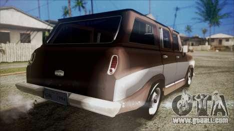 Chevrolet Veraneio for GTA San Andreas left view