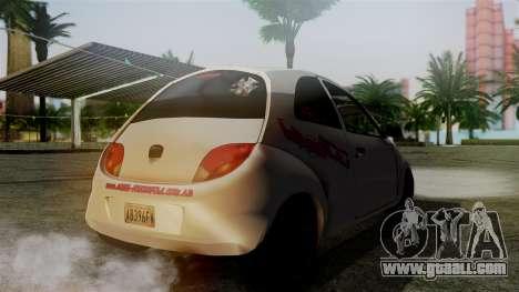 Ford Ka El Patan for GTA San Andreas left view