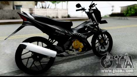 Satria FU Dark Fighter Predator for GTA San Andreas left view