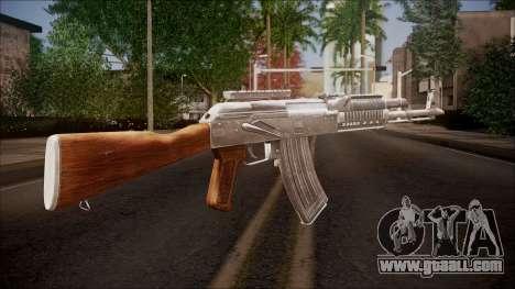 AK-47 v2 from Battlefield Hardline for GTA San Andreas second screenshot