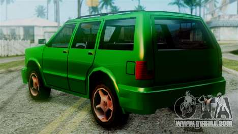 Landstalker New Edition for GTA San Andreas left view