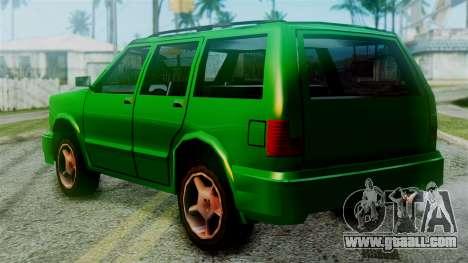 Landstalker New Edition for GTA San Andreas left view
