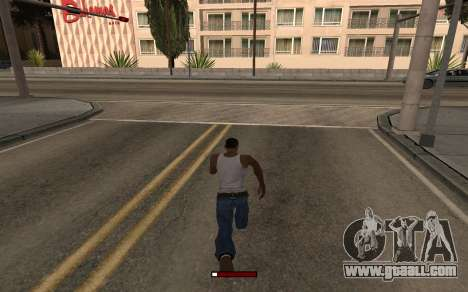 SprintBar for GTA San Andreas second screenshot
