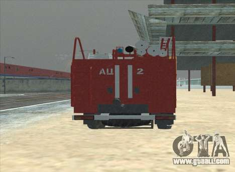 Ural 375 Firefighter for GTA San Andreas right view