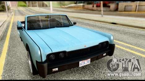 GTA 5 Vapid Chino Stock for GTA San Andreas