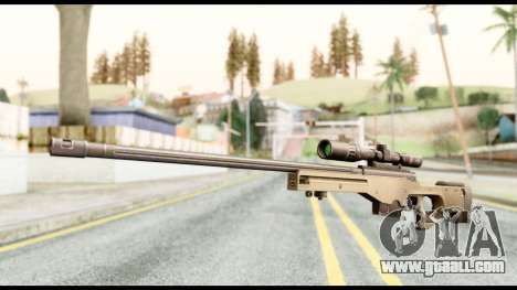 AWM L115A1 for GTA San Andreas