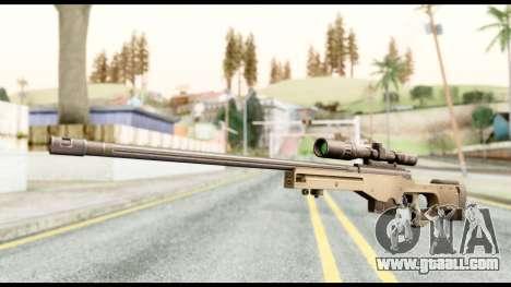 AWM L115A1 for GTA San Andreas