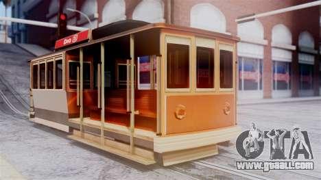 New Tram for GTA San Andreas