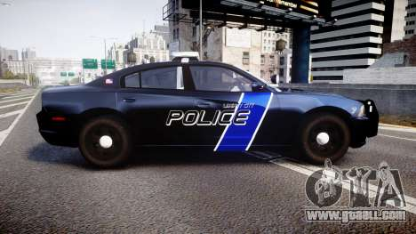 Dodge Charger 2014 LCPD [ELS] for GTA 4 left view