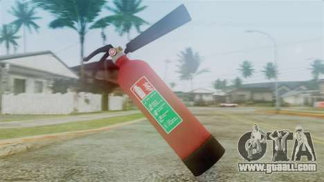 Fire Extinguisher from GTA 5 for GTA San Andreas second screenshot