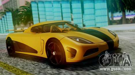 NFS Rivals Koenigsegg Agera R Racer for GTA San Andreas inner view