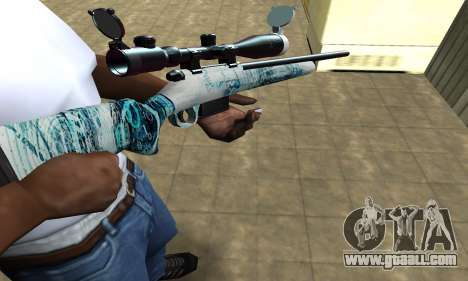 Mini Water Time Sniper Rifle for GTA San Andreas