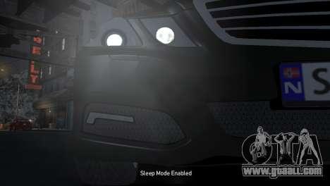Mercedes-Benz E-Class 2015 Norwegian Police for GTA 4 inner view