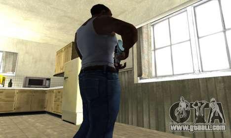 Mini Water Time Sniper Rifle for GTA San Andreas third screenshot