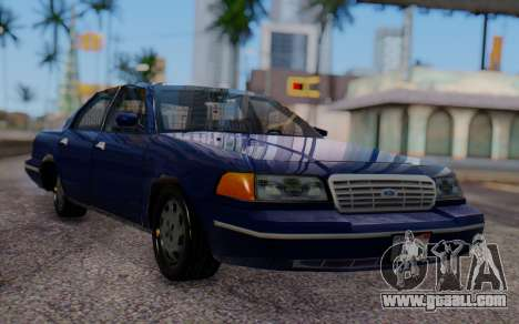 Ford Crown Victoria Civillian for GTA San Andreas