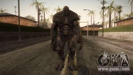 Abomination (The Incredible Hulk) for GTA San Andreas second screenshot