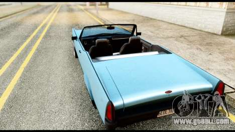 GTA 5 Vapid Chino Stock for GTA San Andreas left view