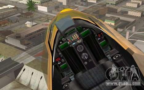 GTA 5 Besra for GTA San Andreas right view