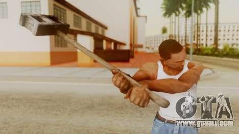 Bogeyman Hammer from Silent Hill Downpour v2 for GTA San Andreas third screenshot