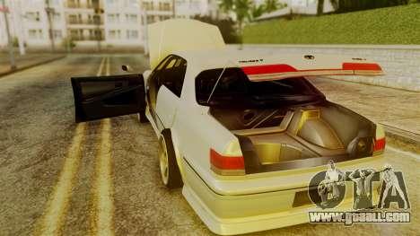 Toyota Mark 2 100 for GTA San Andreas inner view