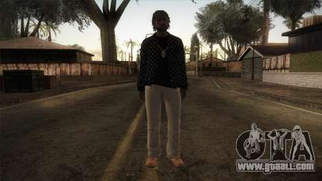 Skin from GTA 5 for GTA San Andreas second screenshot