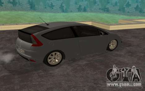 Citroen C4 for GTA San Andreas left view
