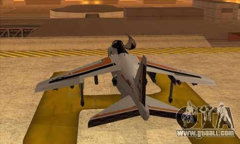 Hydra Asiimov for GTA San Andreas left view