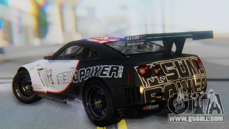 Nissan GT-R GT1 Sumo for GTA San Andreas left view