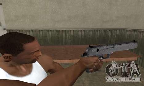 Kerry Deagle for GTA San Andreas third screenshot