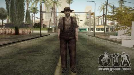 RE4 Don Diego for GTA San Andreas second screenshot