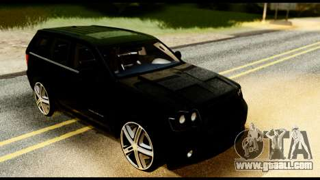 Jeep Grand Cherokee SRT8 Restyling M Final for GTA San Andreas right view
