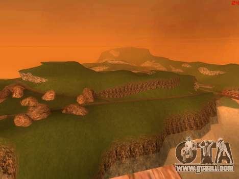 Green desert Las Venturas v2.0 for GTA San Andreas forth screenshot