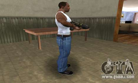 War Combat Shotgun for GTA San Andreas second screenshot