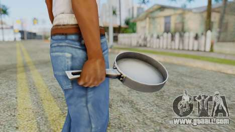 Frying Pan from Silent Hill Downpour for GTA San Andreas third screenshot