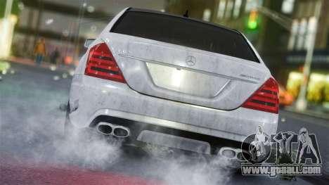 Mercedes-Benz S65 AMG Vossen for GTA 4 back left view