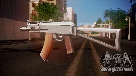 AKC-47У from Battlefield Hardline for GTA San Andreas second screenshot