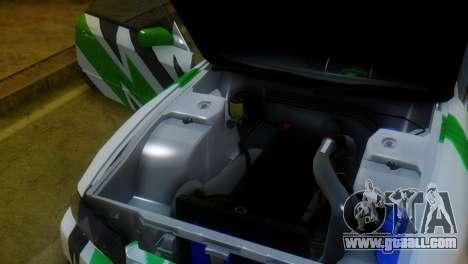 Nissan Skyline GT-R R32 for GTA San Andreas back view
