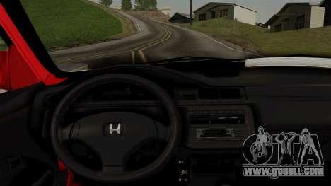 Honda Civic for GTA San Andreas right view