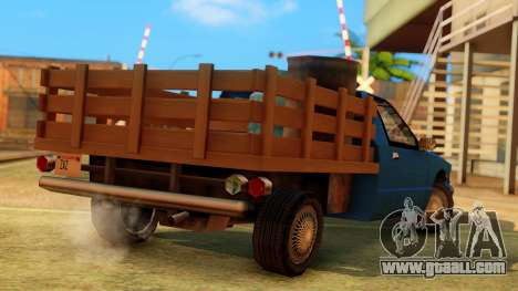 Premier Country Pickup for GTA San Andreas left view