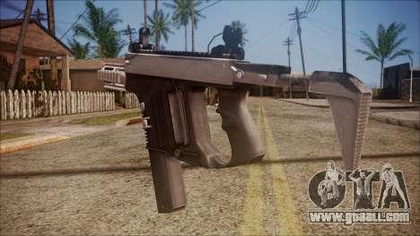 K10 from Battlefield Hardline for GTA San Andreas second screenshot