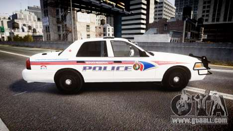 Ford Crown Victoria Bohan Police [ELS] WL for GTA 4 left view