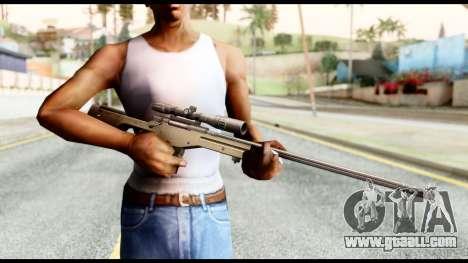 AWM L115A1 for GTA San Andreas third screenshot