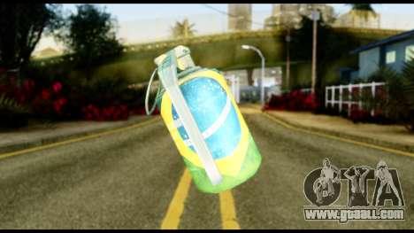 Brasileiro Grenade for GTA San Andreas