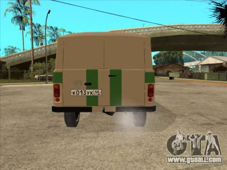 UAZ 1912 DIS Cash machine for GTA San Andreas back left view