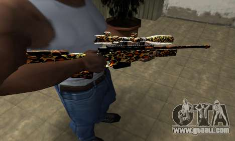 Leopard Sniper Rifle for GTA San Andreas