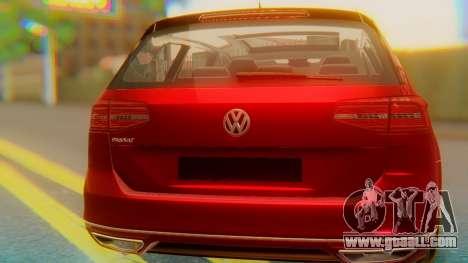 Volkswagen Passat Variant R-Line for GTA San Andreas inner view