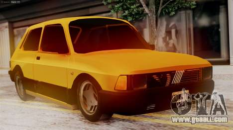 Fiat 147 Al Piso for GTA San Andreas
